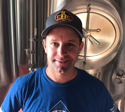 Eric Brown, Brewmaster for Clermont Brewing Company