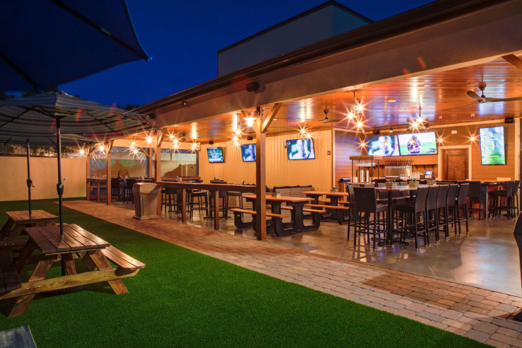 Outdoor Space, Clermont Brewing Company